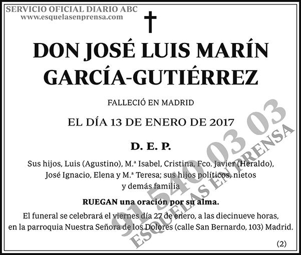 José Luis Marín García-Gutiérrez